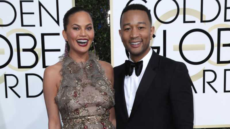 Golden globes celebrity couples photos mula sa 2018 awards