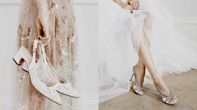 High Street Bridal Shoes fick precis en Jenny Packham X L.K.Bennett makeover